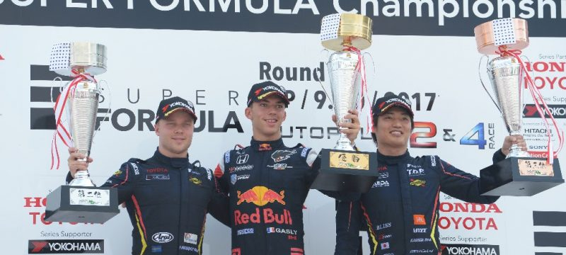 Felix Rosenqvist pulls off extreme strategy to seal third straight Super Formula podium
