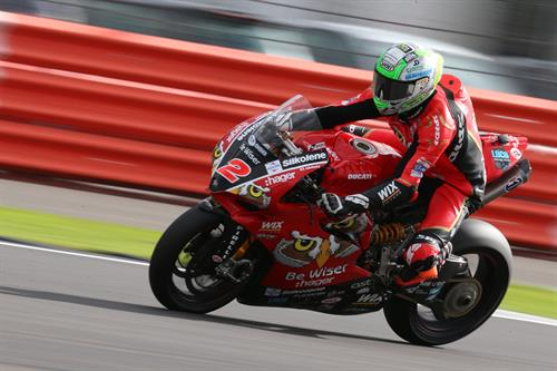 Glen Irwin - Be Wiser Ducati