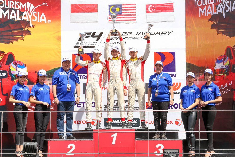 Malaysia's Isyraf Danish aiming for F4 crown