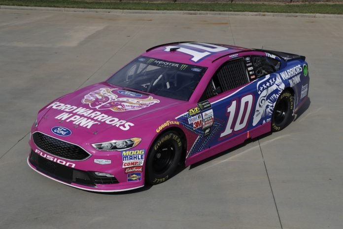 Danica To Wheel Pink Ford Warriors No