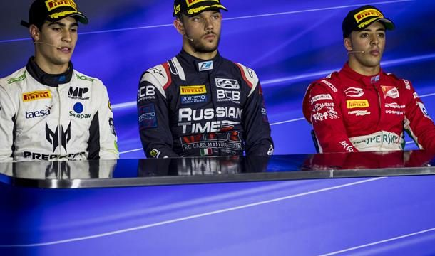 f2 press conference sprint race monza