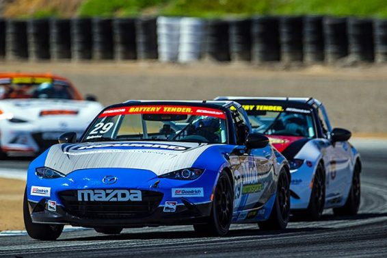 Gallagher Edges Foley In MX-5 Cup Battle