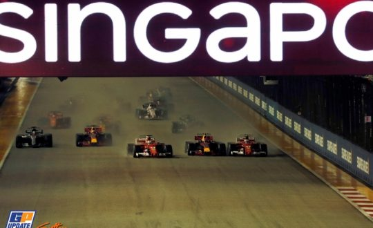 In photos: Story of the Singapore Grand Prix