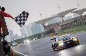 LEE AND THONG VICTORIOUS IN WILD WET DRY BLANCPAIN GT SERIES ASIA RACE AT SHANGHAI