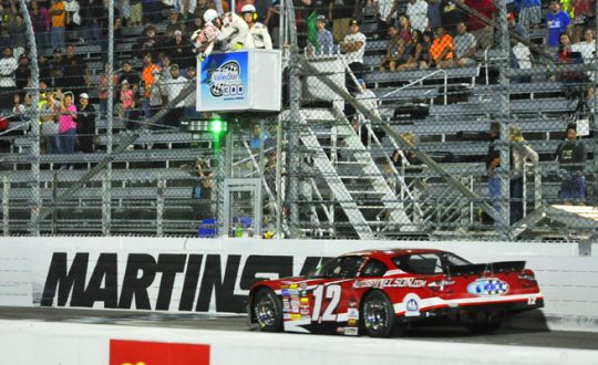 Peters Prevails at Martinsville