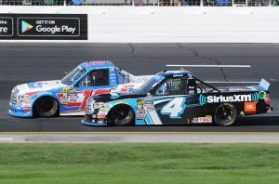 The Bell Tolls In Truck Series Playoff Opener