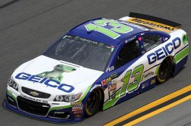 Ty Dillon & GEICO Ink Extension With Germain