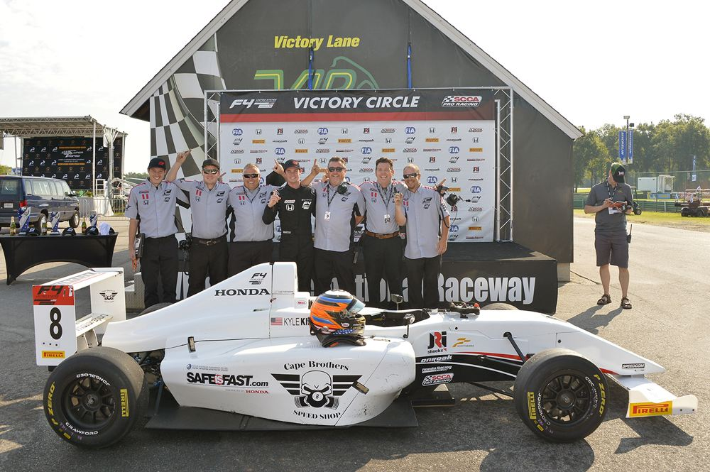 CAPE MOTORSPORTS LOCKS DRIVER AND TEAM CHAMPIONSHIPS IN F4