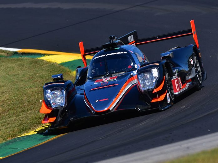 Castroneves Puts Penske On Petit Le Mans Pole