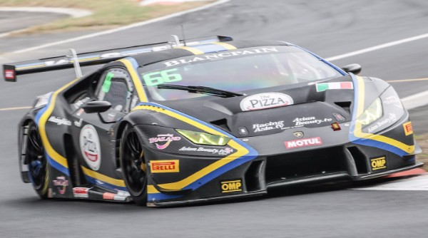 DREYSPRING AND GILBERT SEAL BLANCPAIN GT SERIES ASIA GT3 POLES AT ZHEJIANG