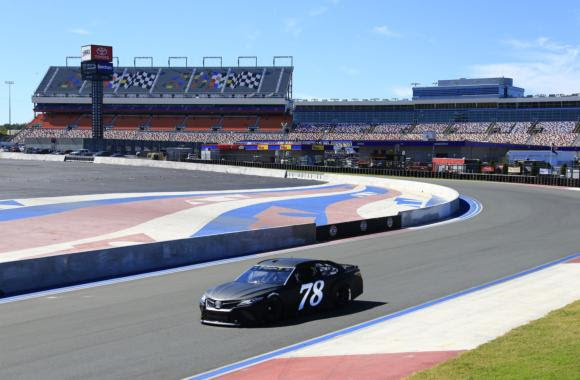 Tire Test Concludes At Charlotte's 'Roval'