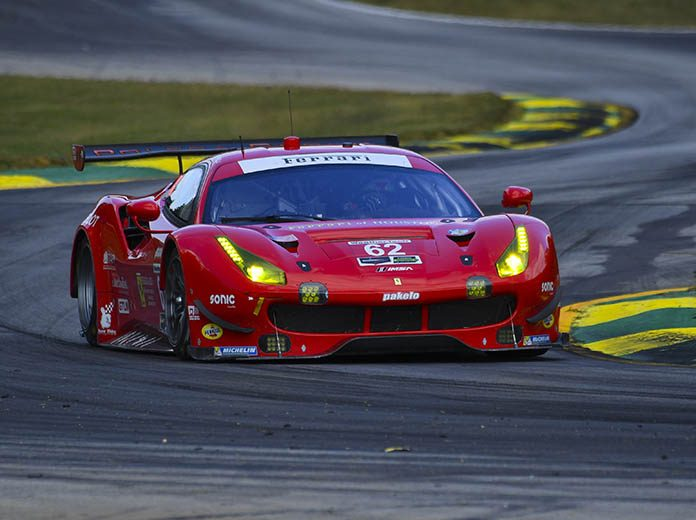 Toni Vilander Speeds For Risi Competizione