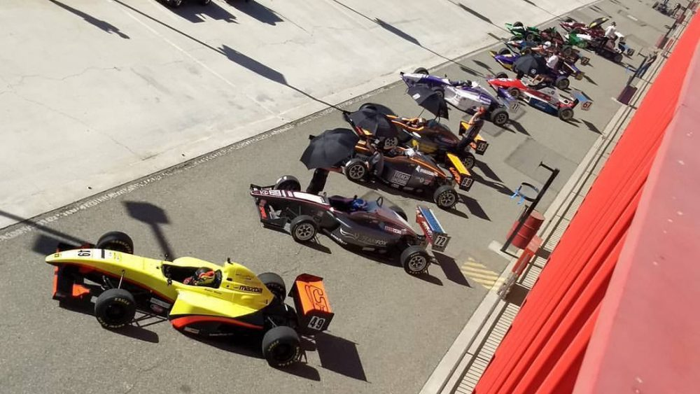 2017 Formula Car Challenge presented by Goodyear National and West Coast Regional Champions Crowned At Auto Club Speedway Season Finale