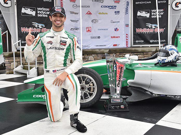 Kaiser & Juncos Racing Enjoying Living The Dream