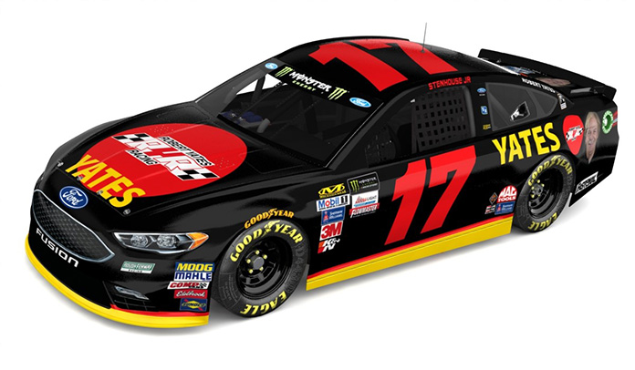 Roush Fenway Honoring Robert Yates At Phoenix