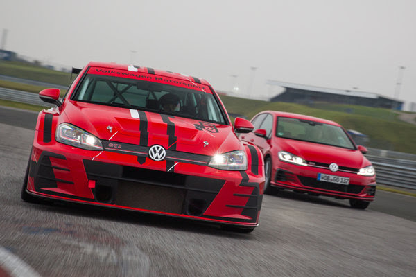New design for the champion:  Update for the successful Volkswagen Golf GTI TCR
