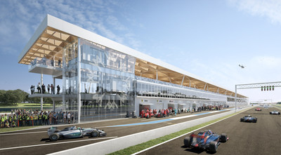 Renovation of Circuit Gilles-Villeneuve paddocks