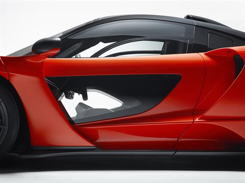 THE McLAREN SENNA THE ULTIMATE ROAD-LEGAL TRACK CAR