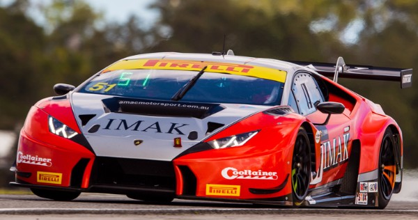 AUSTRALIAN SQUAD AMAC MOTORSPORT CONFIRM BLANCPAIN GT SERIES ASIA ENTRY