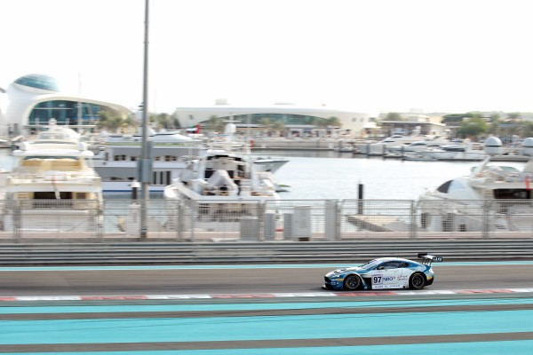SECOND ROW START OVERALL AND CLASS POLE POSITION FOR AL HARTHY AND OMAN RACING AT YAS MARINA