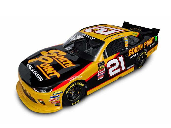 South Point Hotel & Casino To Back Hemric At RCR
