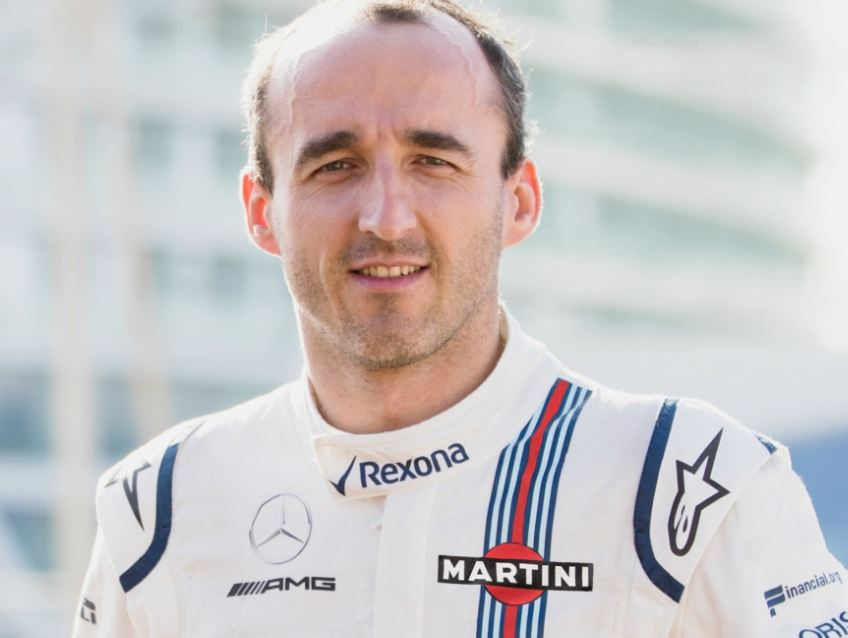 WILLIAMS MARTINI RACING ANNOUNCES ROBERT KUBICA AS 2018 RESERVE AND DEVELOPMENT DRIVER