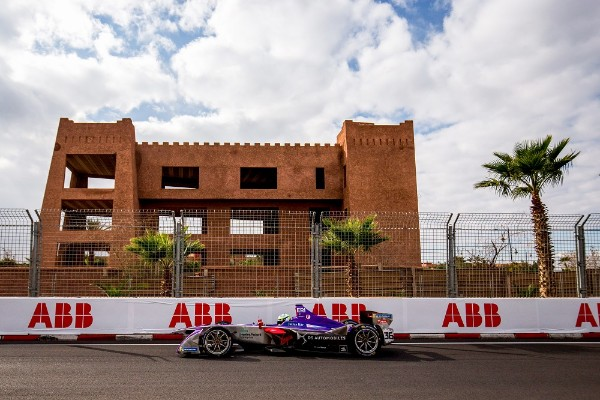 ANTONIO GIOVINAZZI AND JOEL ERIKSSON COMPLETE FORMULA E ROOKIE TEST FOR DS VIRGIN RACING