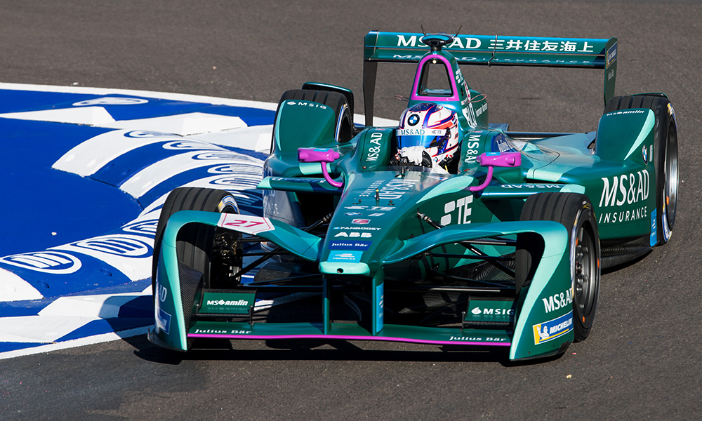 "Blomqvist Lucks Into Points on ""Eye-Opening"" Formula E Debut"