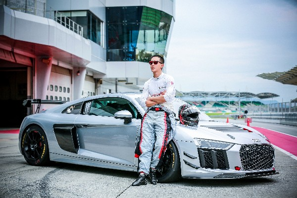 CHINESE CELEBRITY HAN GENG TO JOIN AUDI R8 LMS CUP