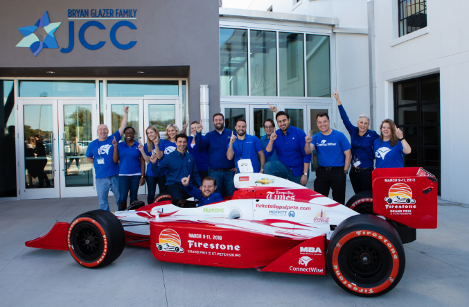 ConnectWise Becomes New St. Pete Grand Prix Partner