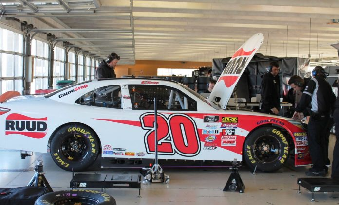 Day 1 Of NASCAR Rookie Test Complete In Atlanta