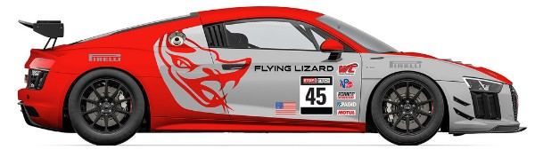 FLYING LIZARD MOTORSPORTS REVEALS CHANGE-UP FOR 2018 MANUFACTURER AND DRIVERS