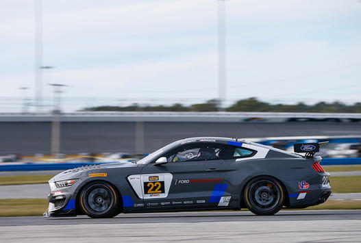 Ford's Young Guns Prepare for Continental Tire Challenge