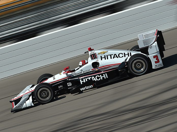 Hitachi Continues Pact With Penske IndyCar Program