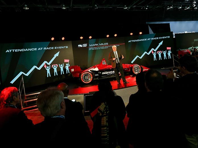 IndyCar Unveils New Universal Aero Kit In Detroit