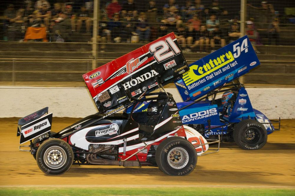 Motorsport: Brocas stuns Pickens to claim sprint car title