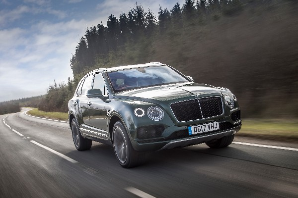 PIKES PEAK CHALLENGE FOR THE BENTLEY BENTAYGA