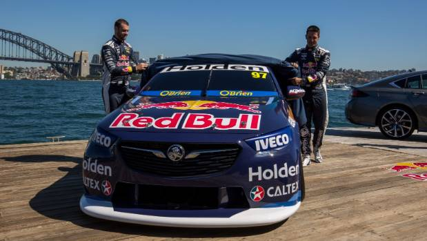Red Bull Holden Supercar at the gate for 2018 season