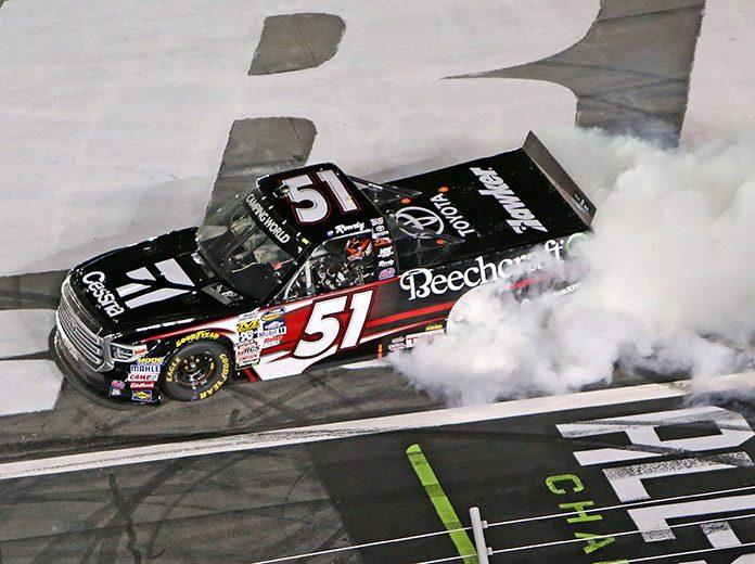 Textron & Busch Confirm Truck Schedule