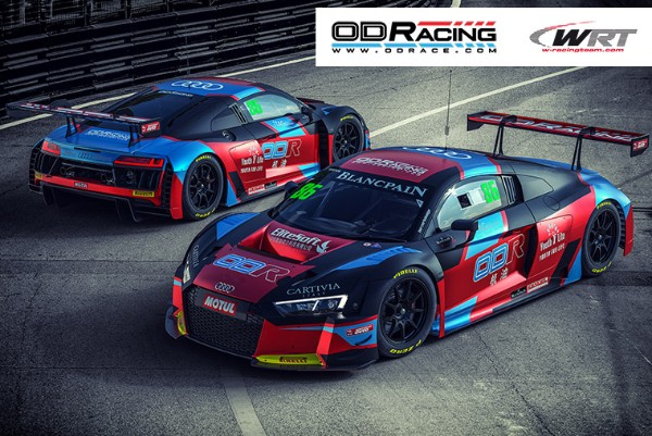 2017 BLANCPAIN GT SERIES ASIA RUNNERS-UP OD RACING AND GILBERT JOIN TEAM WRT