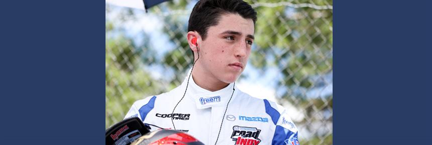 Gutierrez Returns to Mazda Road to Indy with Team Pelfrey