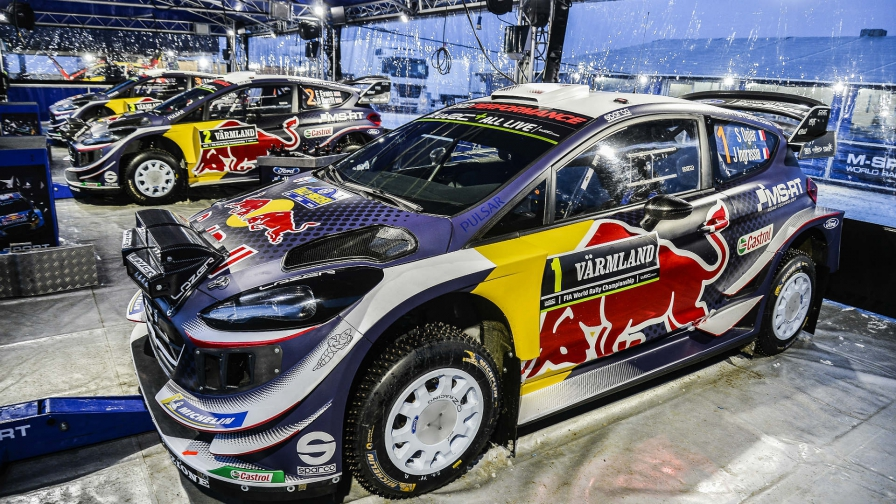 Ogier makes his point in Sweden