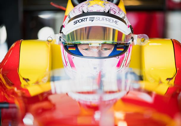 Maximilian Günther joins F2 with Arden International