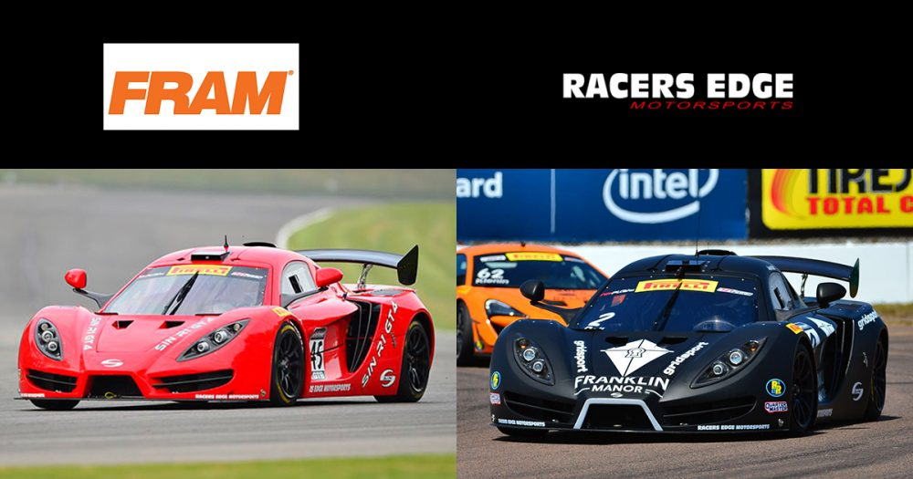 FRAM Inks Deal with Racers Edge Motorsports
