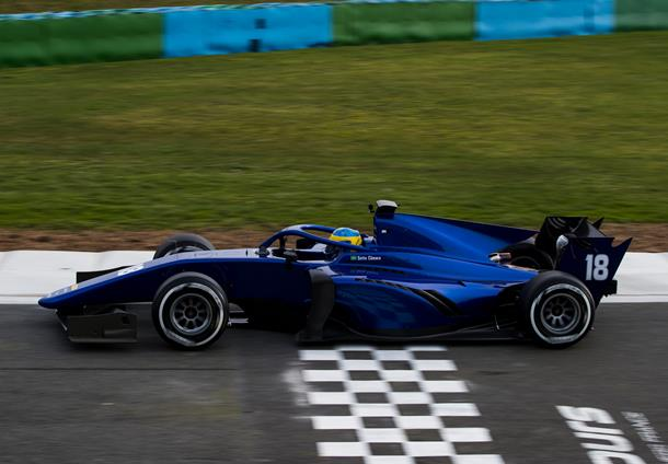 Fruitful shakedown for new F2 2018 car