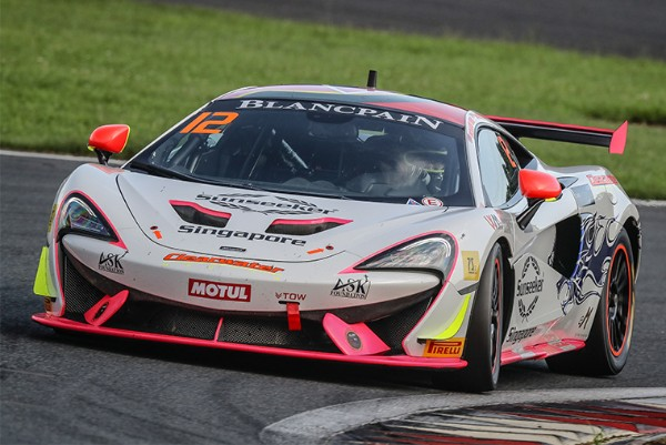 CLEARWATER BACK TO BLANCPAIN GT SERIES ASIA WITH McLAREN GT4