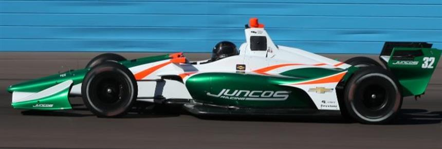 Kaiser, Juncos Racing Find Success in First IndyCar Test