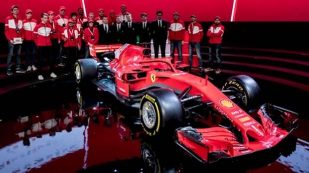 Ferrari launches new F1 car for 2018 season