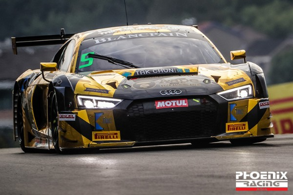 GT3 RACE WINNERS PHOENIX RACING RETURN TO THE 2018 BLANCPAIN GT SERIES ASIA SERIES