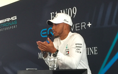 """Mercedes launch a new F1 """"diva"""" as Hamilton seeks to equal Fangio"""